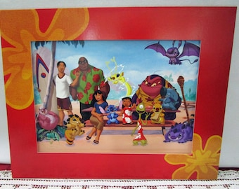 Vintage Disney Lilo & Stitch The Movie Commemorative Lithograph, Disney Store Exclusive, Printed in the USA