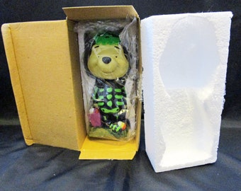 Vintage Disney Winnie the Pooh Halloween Bobblehead Retired #24922 Park Exclusive Bobble Head figurine Pooh Bear Collectible Disneyana