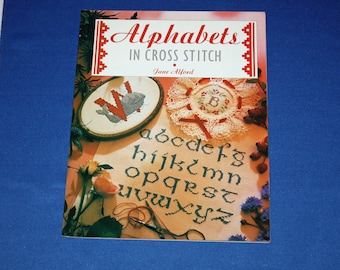 Vintage Alphabets in Cross Stitch Booklet The Cross Stitch Collection Alford Jane Sampler Pattern Leaflet Patterns Samplers Projects Book