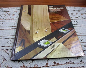 Vintage New Living Spaces Home Repair And Improvement By Time-Life Books Hardcover Book Projects How To
