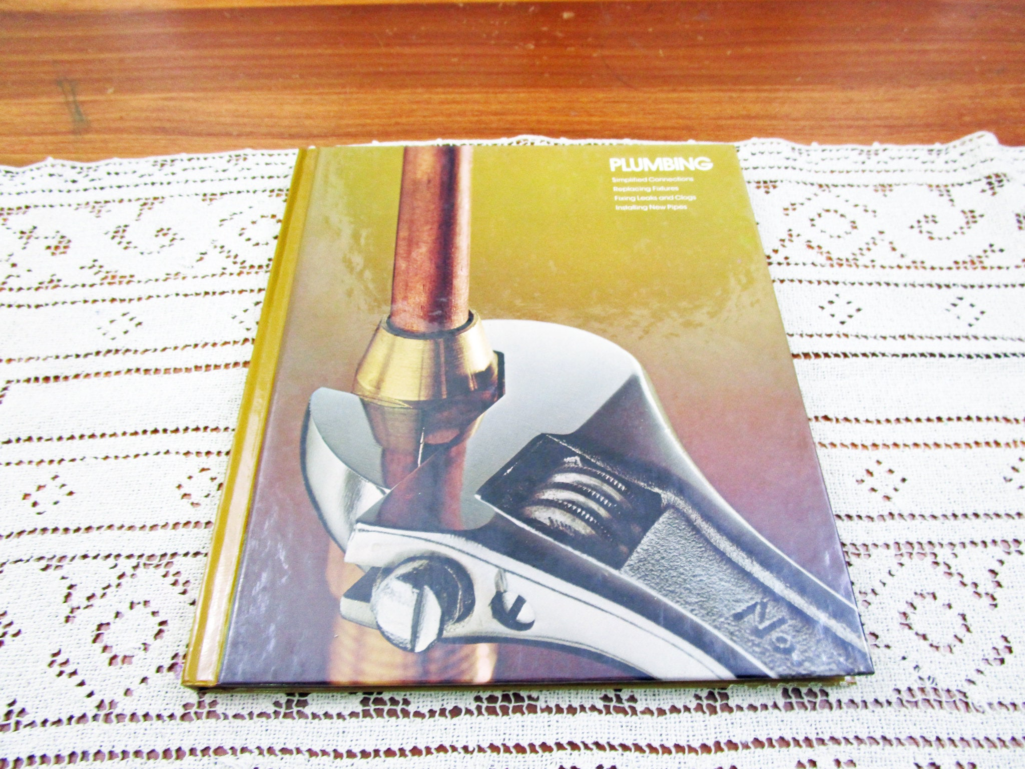 Vintage Plumbing Home Repair And Improvement By Time Life Books Hardcover Book Projects How To Repair Remolding