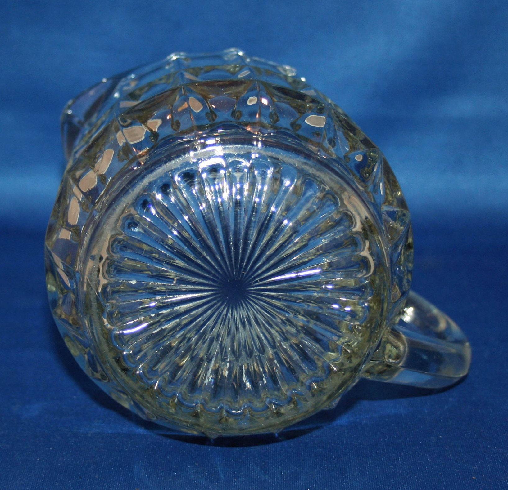 Vintage 16 oz Syrup Pitcher Jeannette Glass Co Windsor 1936-1946 ...