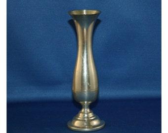 Vintage Steiff Pewter Flower Bud Vase P 131 Collectible Metalware Farmhouse Knick Knack Homestead Curio Cabinet Decor