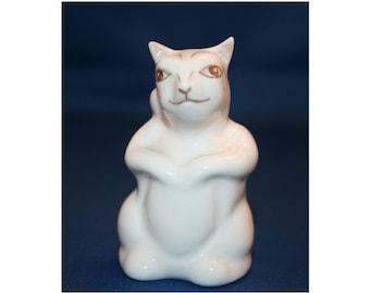 VINTAGE Coalport Squirrel Figurine Made in England circa 1960 Porcelain Hand Painted Fine Bone China Figure Knick Knack