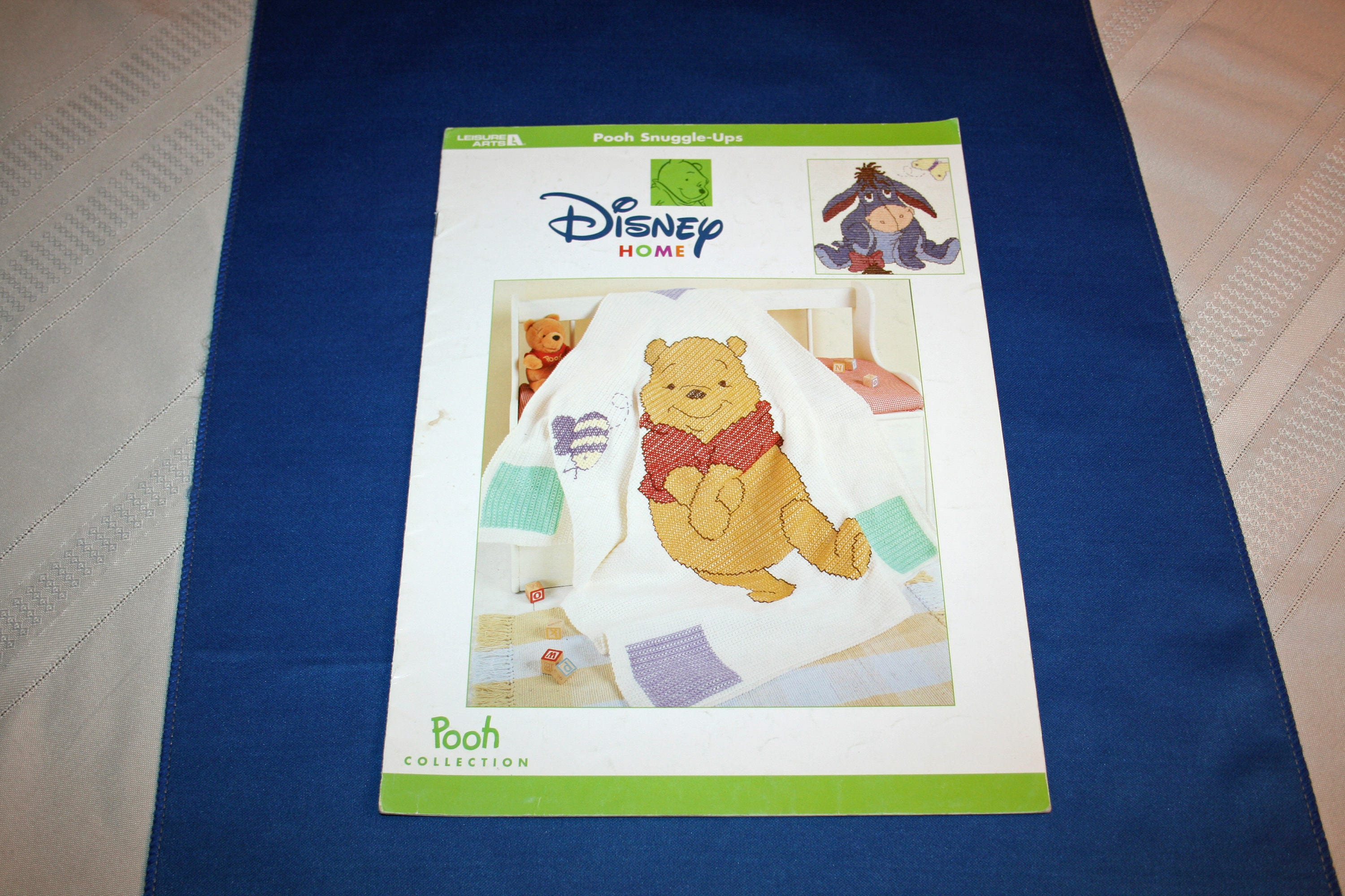 Pooh Snuggle Ups Disney Winnie the Pooh Collection Leisure Arts ...