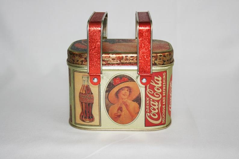 Coca Cola Picnic Basket Tin Collectible