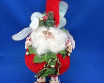 "Vintage Original Mark Roberts Apple Cinnamon Fairy Ornament 9"" tall doll 51-26264 COA Holiday Decoration Christmas Santa Collectible"