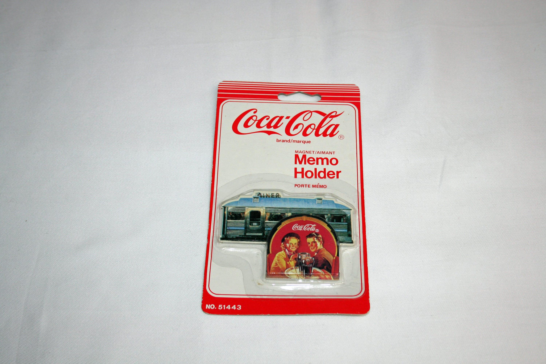 Coca Cola Kühlschrank Retro Look : Jahrgang coca cola diner magnetische memo halter coca cola etsy