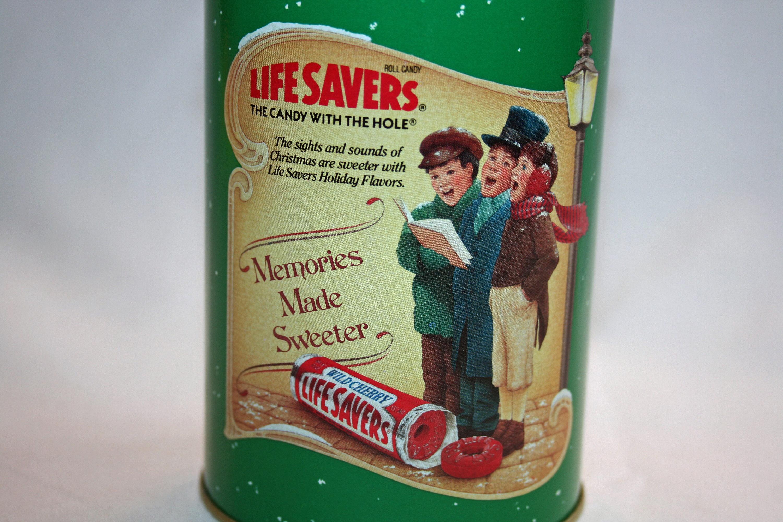 Vintage Planters Life Savers Christmas Carol Collector's Tin ... on