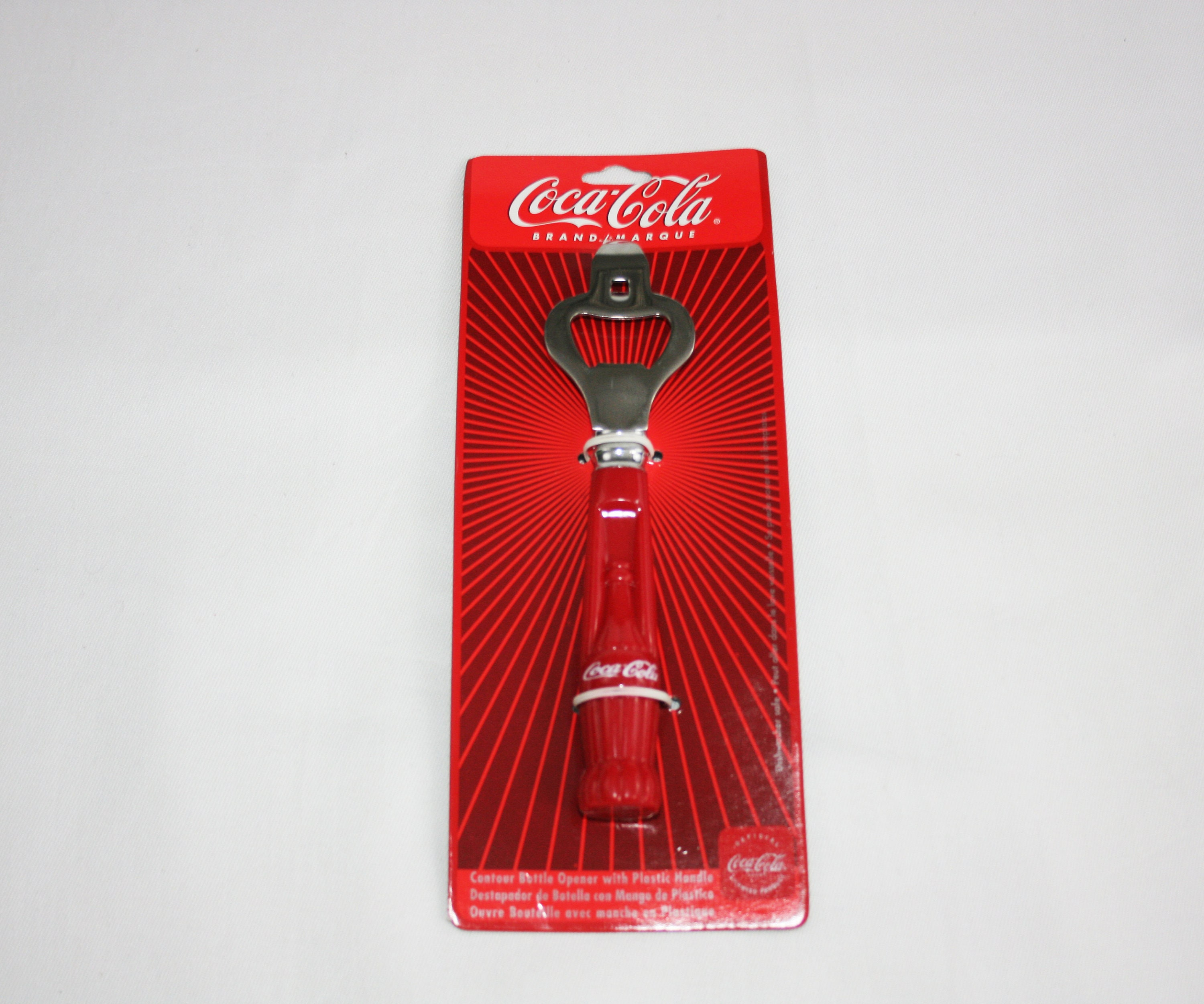 Vintage Coca Cola Bottle Opener by Gibson Overseas Inc. - Coke Collectibles  Memorabilia Ephemera Can Opener