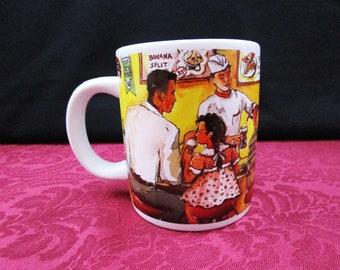 Vintage Walgreens Commemorative Employee Mug Soda Fountain Coffee Cup Hot Cocoa Collectible Walgreen