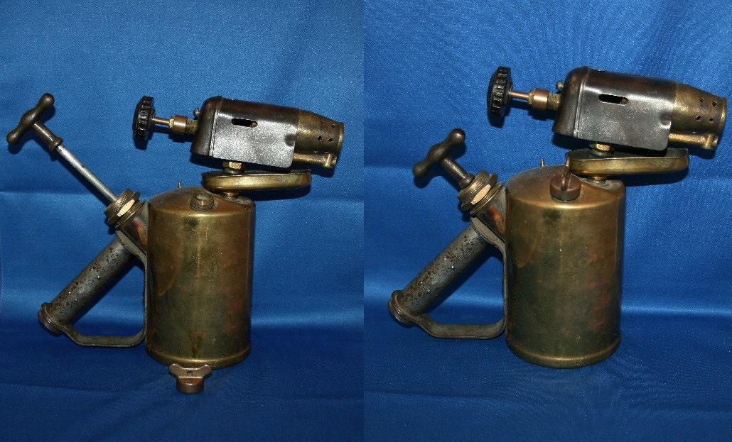 Rare Vintage Antique G  Barthel Brass Gasoline / Kerosene / Paraffin