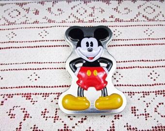 Vintage Disney Time Works Mickey Mouse Ladies Oval Gold Watch, Theme Park Souvenir, Unworn Disneyland