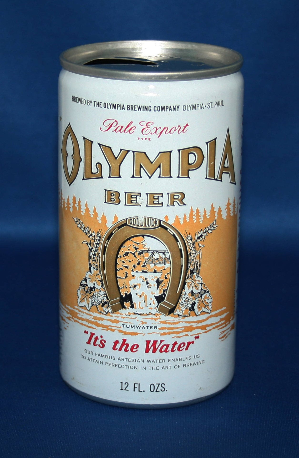 Vintage OLYMPIA BEER BOTTLE Pale Export Type /'It/'s the Water/'