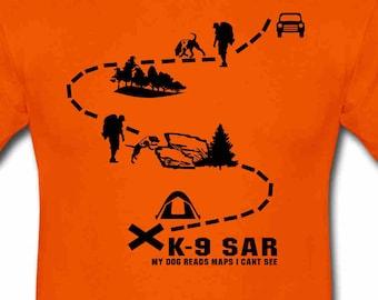 K-9 SAR maps