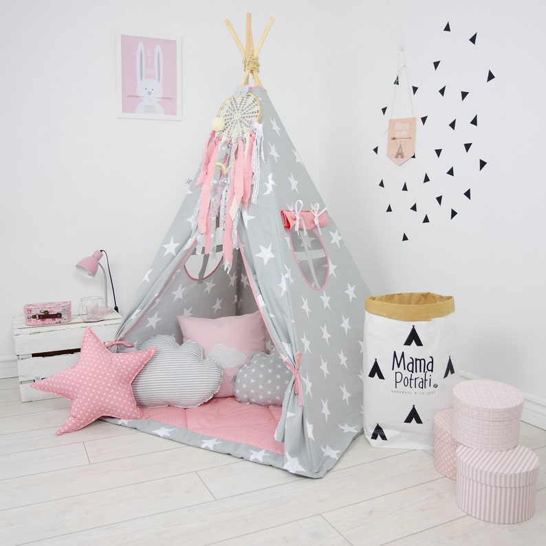 With Imagination Tipi Light Zelt Lampe Spot In Kids Reading Teepee Set Kid Wigwam Playhouse Glow My Play Tente YIb6ygf7vm