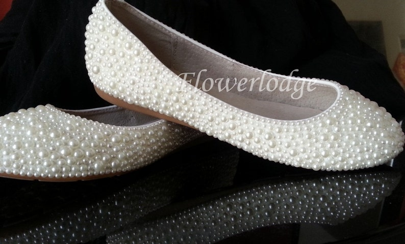big girl ivory shoes pearl ivory ballet flats soft comfortable real leather shoes flats prom party dance shoes