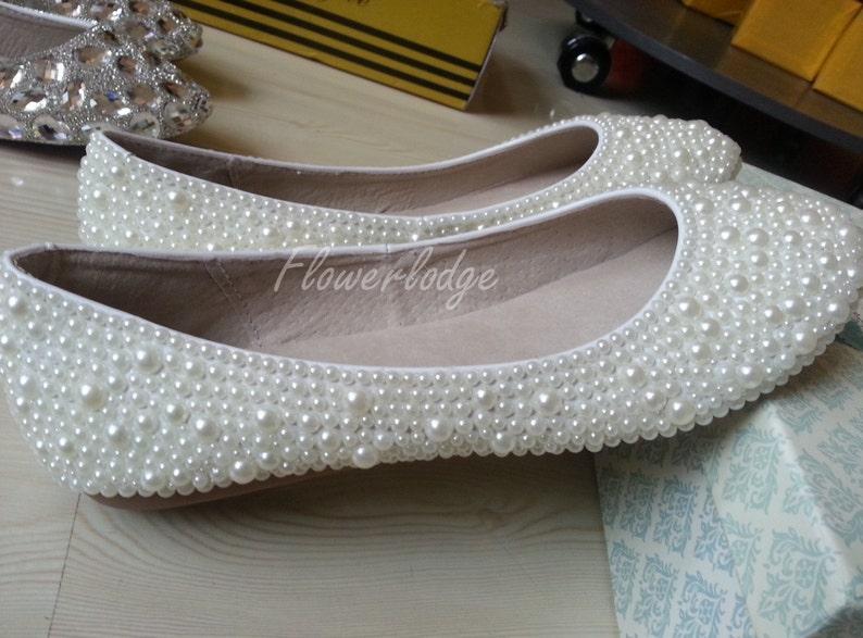 Ivory Ballet Flats Shoes Custom Shoes Off White ballet flat  ba4089f544