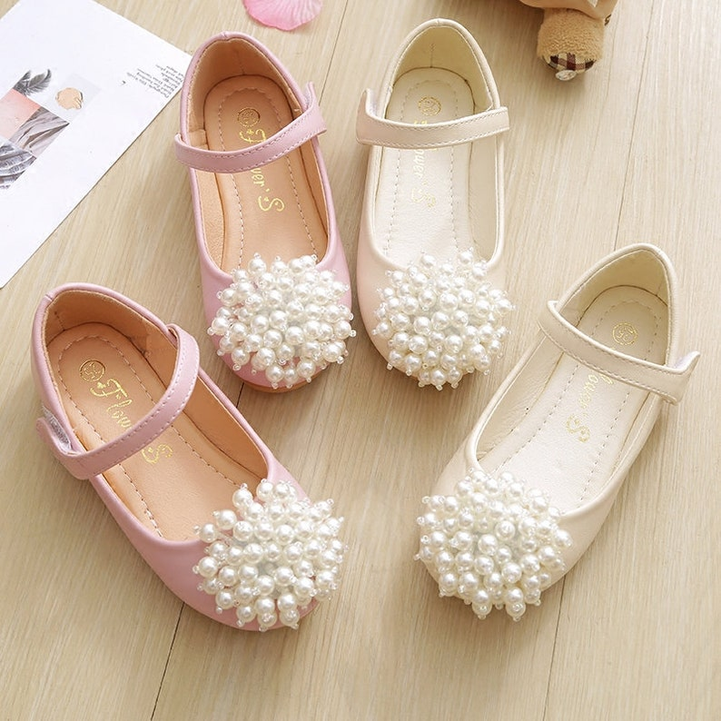 f50c60c70a798 pearl toddler shoes ivory flower girl shoes