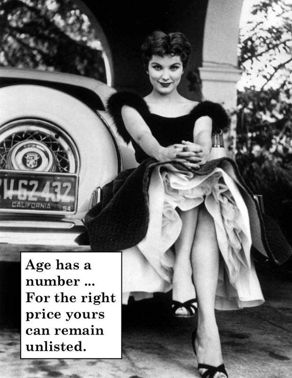 Funny Vintage Birthday Card Hilarious Retro Card Vintage Etsy
