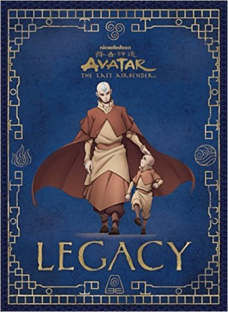 Avatar Legacy (Avatar the Last Airbender) graphic novel/art scrapbook,  illustrated by me  Autographed and with a personalized sketch!