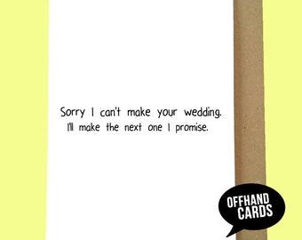 rsvp regret card etsy