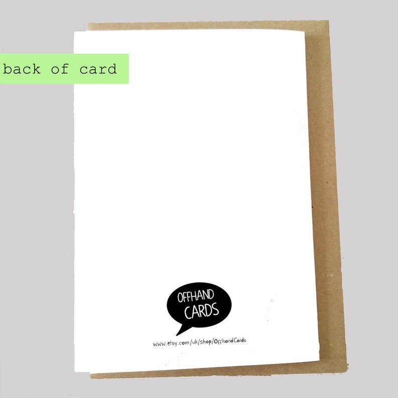 Baby Humour Funny New Baby Card New Mum Card Blank Inside. New Mom Card Nappy Card Diaper Card Expecting Card Code Brown Funny