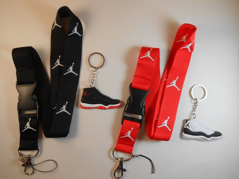 Two Jordan lanyards with Two Jordan keychains. New!! Free shipping! Greatest baller ever!