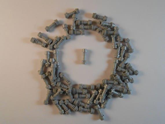 LEGO Lot of 4 Light Bluish Gray Star Wars Light Saber Hilt Weapons