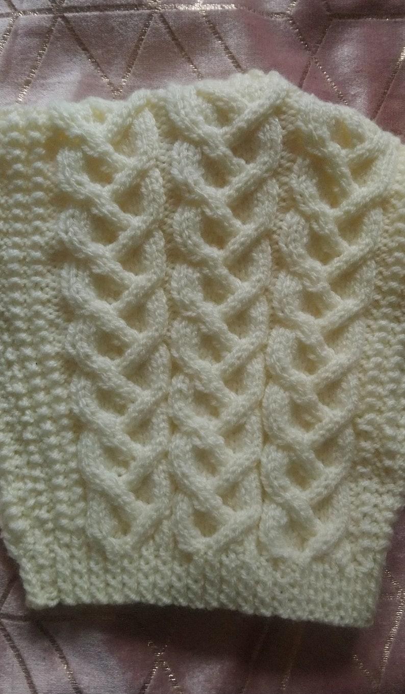 Dylan Designer Aran Knitting Pattern   Etsy