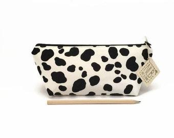Pencil case, Cute school supply, Dalmatian, Pencil pouch, Pencil case for kids, Pencil pouch cute, Student gift, Cute desk accessory