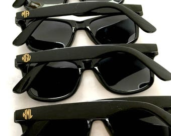 Monogrammed Bridesmaids Sunglasses
