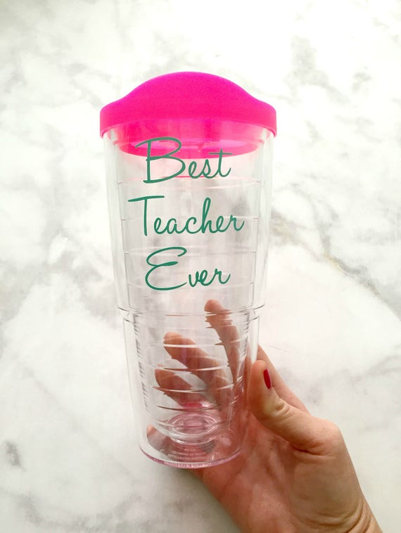 best teacher ever tervis tumbler 24oz