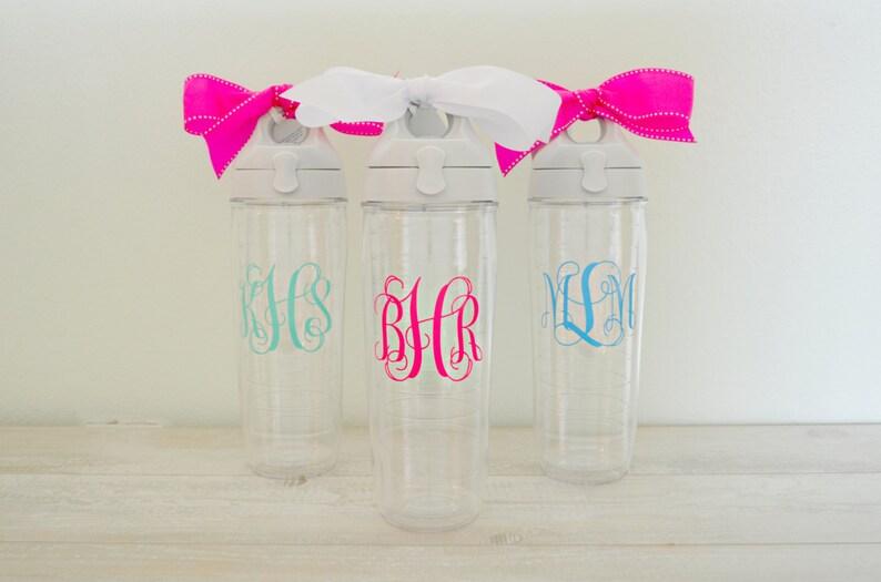 c4d1256c1fd Monogram Tervis Water Bottle Monogrammed Tervis Water Bottle | Etsy