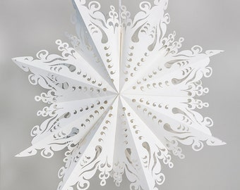 Paper Snowflakes - Intricate design