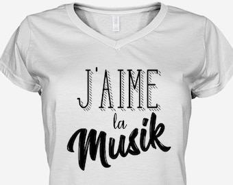I love the music: women's T-shirt