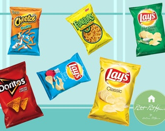 "1:6 Handmade miniature toy for 11/""-12/"" fashion dolls Doritos chips bag"