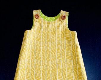 Reversible A-Line Dress (Sizes 2T - 6/6x)