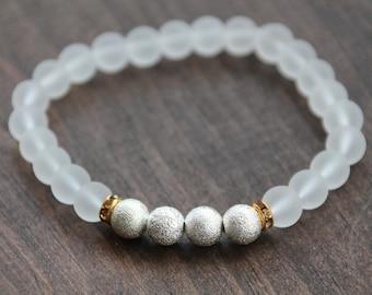 Classic Queen beaded bracelet
