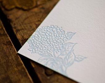 Hydrangea Note Cards