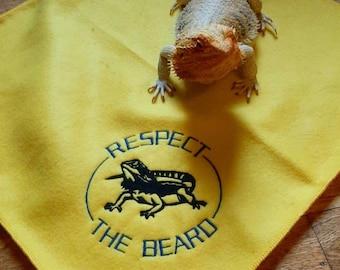 Bearded Dragon Ubby blanket - Respect the Beard