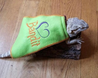 Bearded Dragon Name with Heart Cape