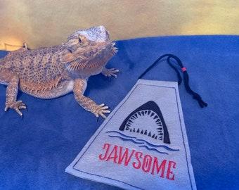 Bearded Dragon Shark Week Jawsome Cape