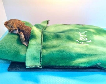 Bearded Dragon Bed and Blanket Combo Ubby Bed and Ubby Blanket