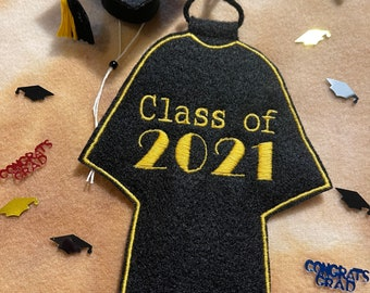 Bearded Dragon Graduation Cap and Gown
