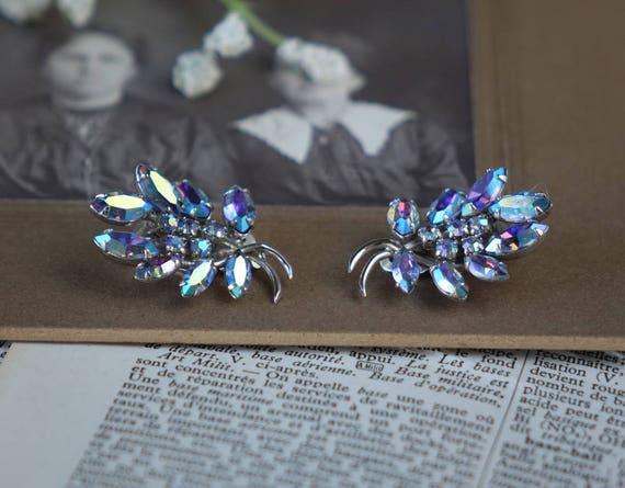 Vintage Bleu Earrings - Sherman