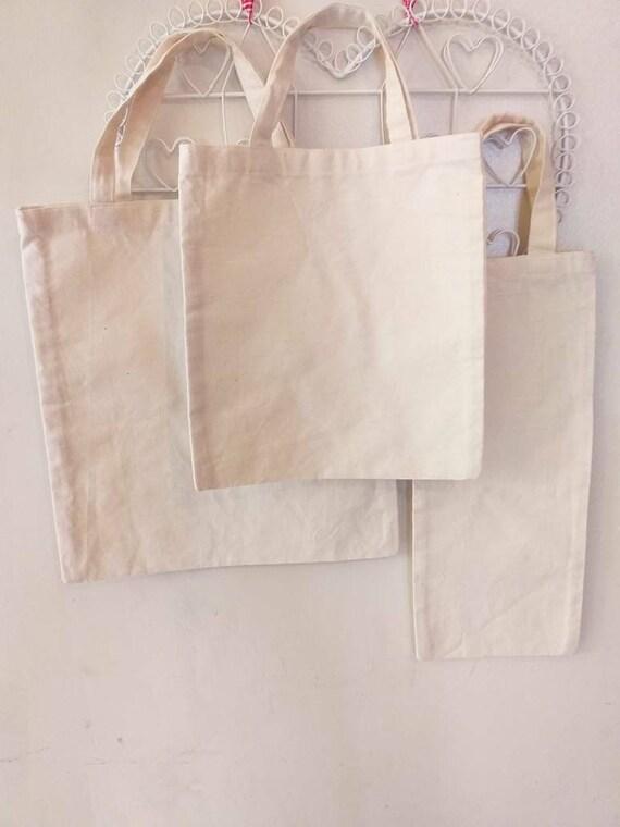 Plain Cotton Calico Bottle Bags Ideal For Decorating Etsy