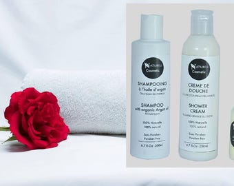 Argan shampo & Cream shower