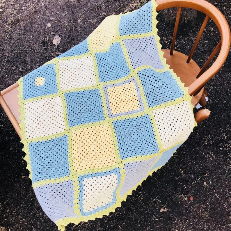 Newborn Baby Blanket Handmade Baby Blanket Crib Blanket Pram Blanket Stroller Baby Blanket Baby Shower Gift Merino Blanket