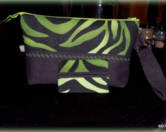 Zipper wristlet, zipper pouch, gifts for her, clutch.